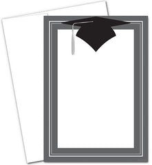Class Hat Invitations with Envelopes