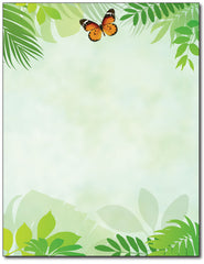 Flutter Butterfly Stationery