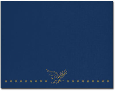 Patriotic Navy Certificate Covers