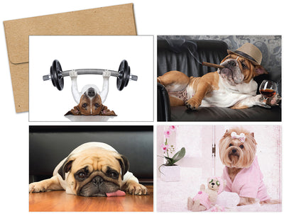 Doggy Thoughts Multi-Pack Note Cards