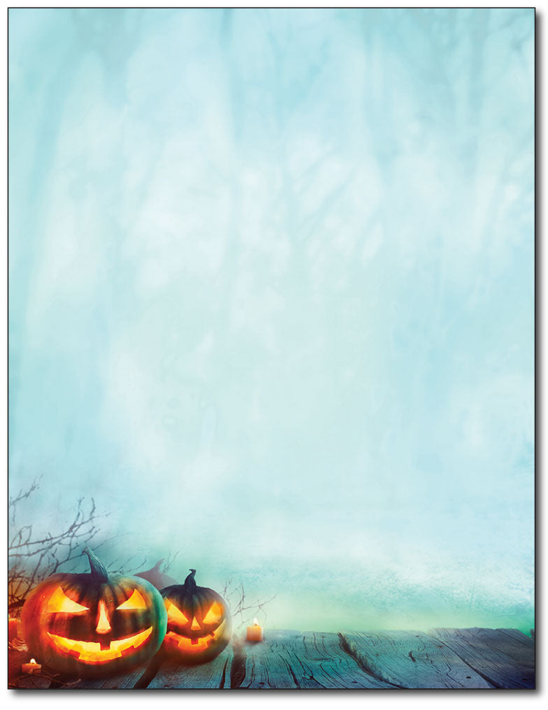 Enchanted Pumpkins Stationery - 80 Sheets