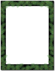 Christmas Pine Stationery