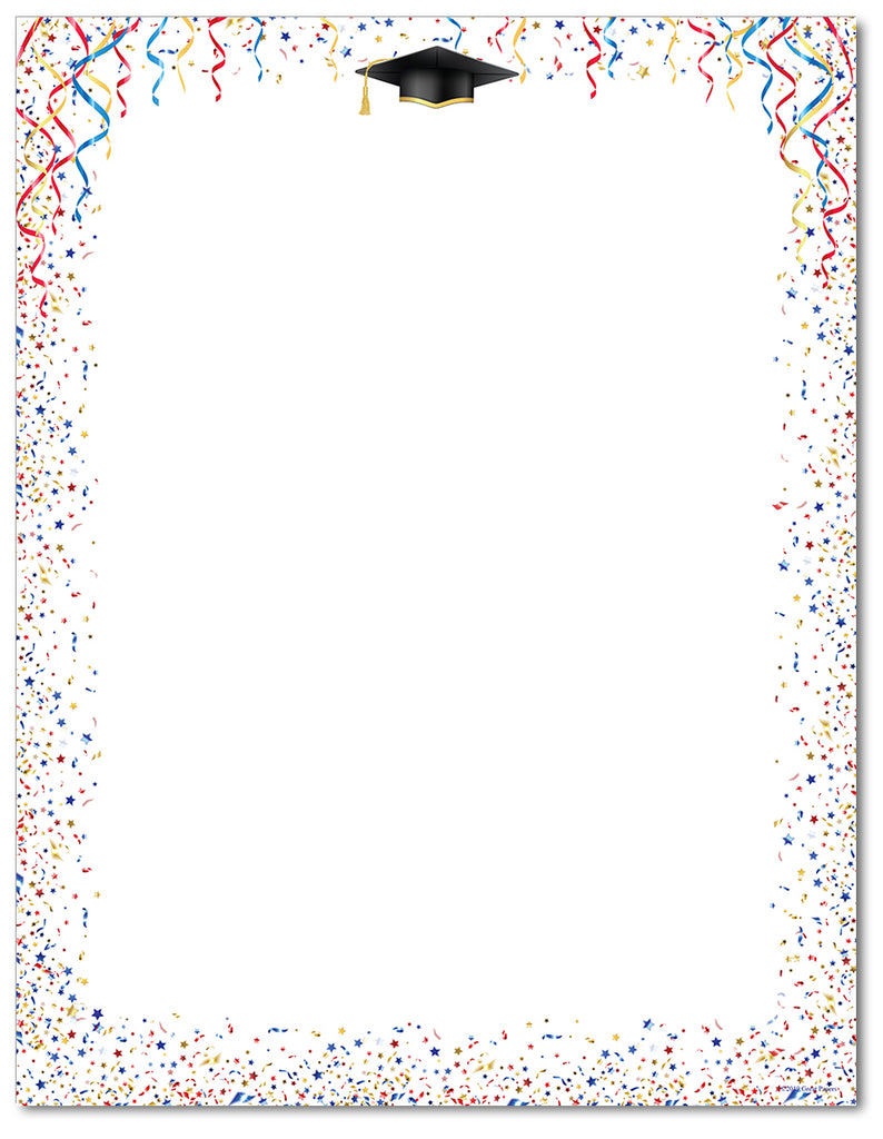 Graduation Stationery - Celebrate Grad - 60lb Text