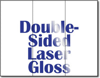 "38lb Laser Gloss Brochure Paper measure 8 1/2"" x 11"", Gloss both sides."