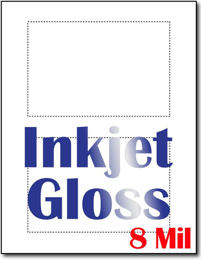 "8 mil Inkjet Postcards, measure (4"" x 6"") , compatible  with inkjet, compatible  with copier, Inkjet and laser, Matte Both sides"