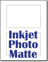 "90lb Inkjet Photo Matte Full Bleed 4"" x 6"" Postcards."