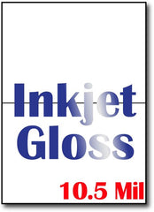 "10.5 mil Inkjet Gloss  Greeting card  , measure(5"" X 7""), compatible with inkjet, full gloss"