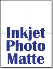 90lb 2 Microperforated Inkjet Photo Matte Greeting Cards.