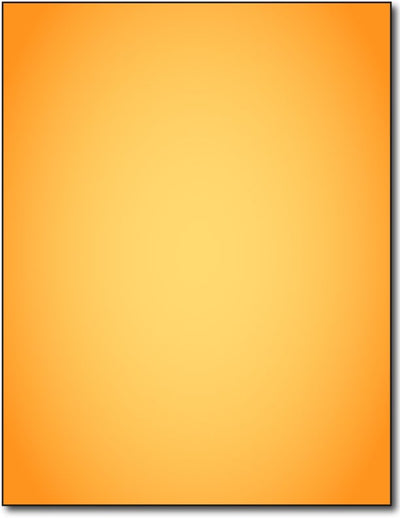 "Fluorescent Orange Flyer Paper, measure (8 1/2"" x 11"") , compatible with copier,inkjet and laser , matte both sides"
