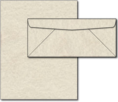 Natural Parchment Paper & Envelopes - 40 Sets, Inkjet and Laser Printer Compatible