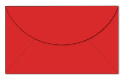 "Red Gift Card Envelopes | 60lb Text (3.625"" x 2.375"")"