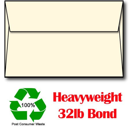 "32 lb White Envelopes, size A7, measure( 5 1/4"" x 7 1/4""), compatible with copier, inkjet and laser, matte both sides"
