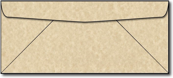24lb, #10 Brown Parchment Envelopes.