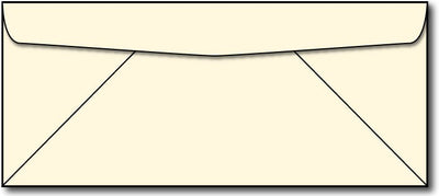 28lb, #10 Cream Business Envelopes.
