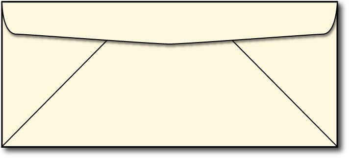 24lb, #10 Cream Linen Business Envelopes.