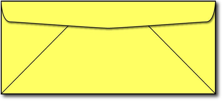 Lift-off Lemon #10 Business Envelope.