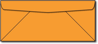 24lb, #10 Cosmic Orange Business Envelopes.