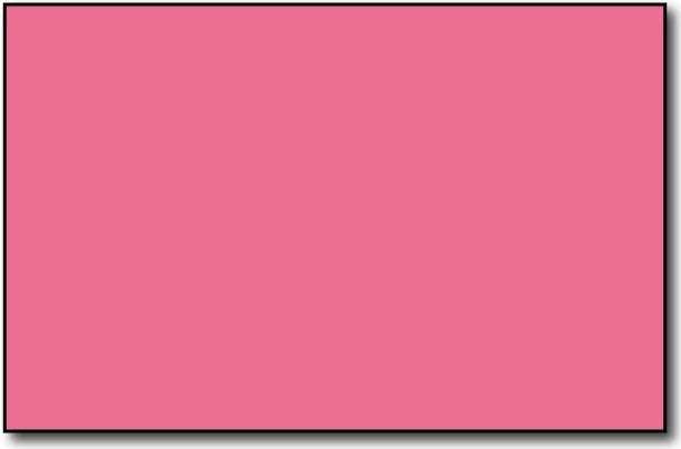 "Single Flat Cards, 5 1/2"" x 8 1/2"" Pink - 500 Flat Cards"