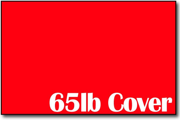 "Single Flat Cards, 5 1/2"" x 8 1/2"" Rocket Red - 500 Flat Cards"