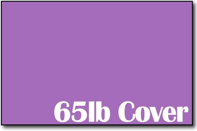 "Single Flat Cards, 5 1/2"" x 8 1/2"" Planetary Purple - 500 Flat Cards"