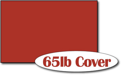 "Single Flat Cards, 5 1/2"" x 8 1/2"" Holiday Red - 500 Flat Cards"