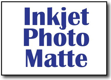 "Inkjet Photo Matte 5"" x 7"" Cards - 500 Cards"
