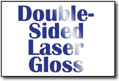 "Double Sided Laser Gloss 4"" x 6"" Cards - 500 Invitations"