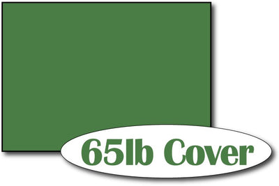 "65lb Holiday Green 5"" x 7"" Cards - 500 Flat Cards"