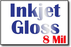 "8 Mil Inkjet Gloss 4"" x 6"" Cards - 500 Flat Cards"