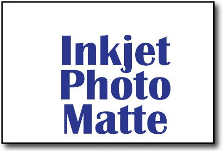 "Inkjet Photo Matte 4"" x 6"" Cards - 500 Cards"