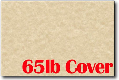 "Brown Parchment 4"" x 6"" Cards - 500 Flat Cards"