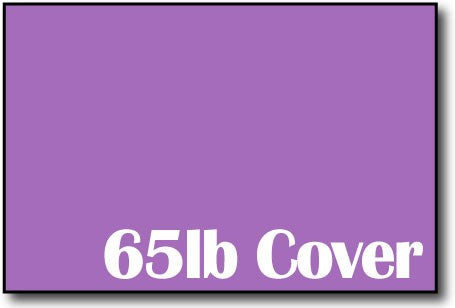 "65lb Planetary Purple 4"" x 6"" Cards - 500 Flat Cards"
