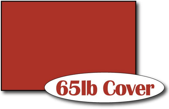 "65lb Holiday Red 4"" x 6"" Cards - 500 Flat Cards"