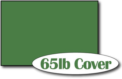 "65lb Holiday Green 4"" x 6"" Cards - 500 Flat Cards"