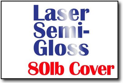 "Double Sided Laser Semi Gloss 4"" x 6"" Cards - 500 Flat Cards"
