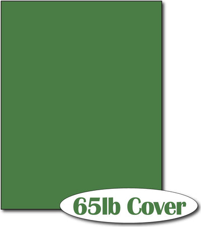 "65 lb Holiday Green  CardStock , size A6, measure (8 1/2"" x 11"") , compatible with copier, inkjet and laser , Matte Both sides"