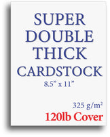 120lb Cover White Cardstock