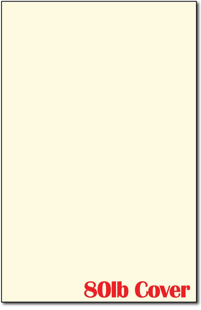 "80 lb Cream Cardstock, measure (11"" x 17"" "") , compatible with copier,inkjet and laser , matte both sides"