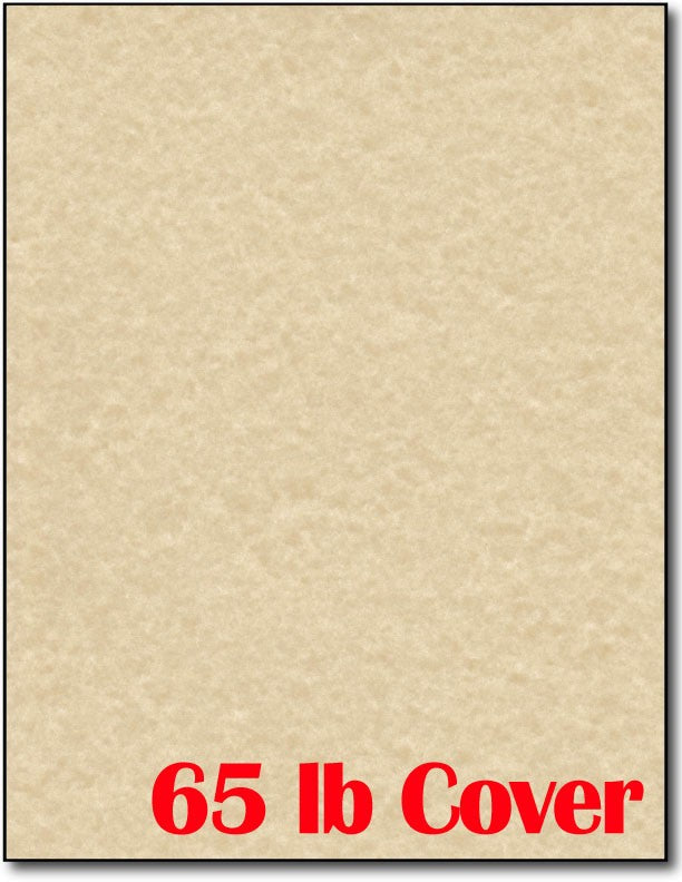 "65 lb Brown Parchment CardStock , size A6, measure (8 1/2"" x 11"") , compatible with copier, inkjet and laser , Matte Both sides"