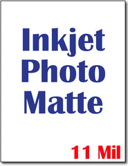 "90 lb Heavy Weight Doube Sided CardStock , size A6, measure (8 1/2"" x 11"") , compatible with  inkjet, Photo Matte Both sides"