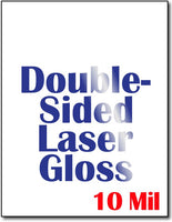 "80 lb Double Sided Laser Gloss CardStock , size A6, measure (8 1/2"" x 11"") , compatible with copier and laser , Full Gloss"