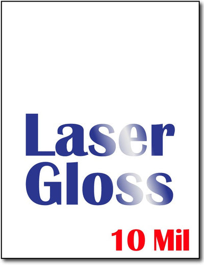 10 Mil Laser Gloss Cardstock - 250 Sheets