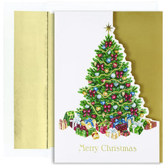 "Covered In Gifts Boxed Holiday Cards - 16 Cards And Envelopes, measure (5.625"" x 7.875"")"