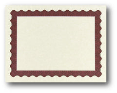 "24lb Red Parchment Certificate , measure (8 1/2"" x 11"") , compatible with inkjet and laser"