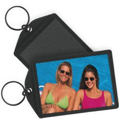 "Sparkle Photo Key Chains 2"" x 3"" Black"