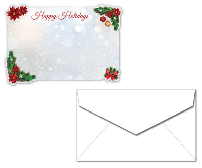 Holiday Letterhead with Envelopes - Holiday Decorations