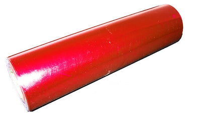 Red Metallic Laser Foil - 200 Foot Roll