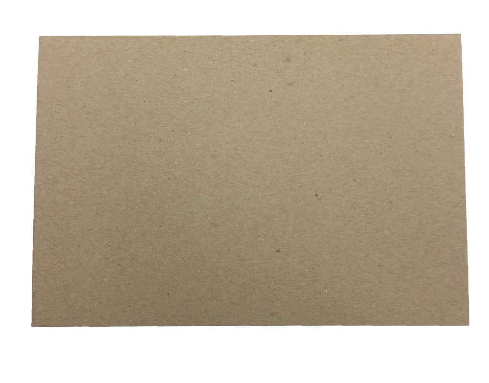 "30pt 4"" x 6"" Brown Kraft Cardboard Chipboard"