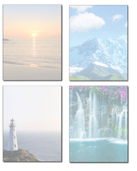 Stationery Collection - Scenic Views - (50lb Text)