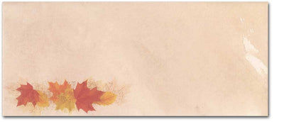 Simple Fall Leaves #10 Envelopes